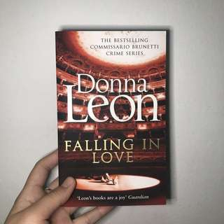 Falling in Love by Donna Leon (Murder Mystery)