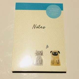 Kikki B6 Notepad