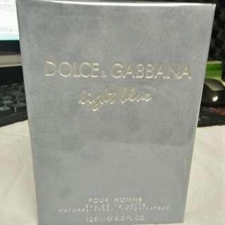 100% Authentic D&G Light Blue for Men