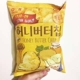 ✨卡樂B海太 蜂蜜牛油薯片 60G Honey Butter Potato Chips