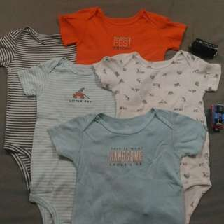 Bundle: Take All 5 Carter's Onesies, 24mos