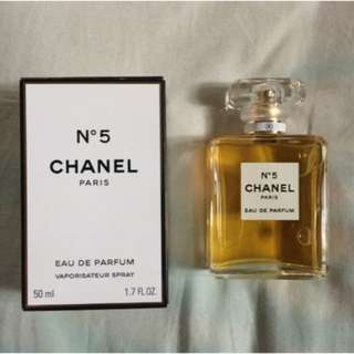 Authentic Chanel No 5