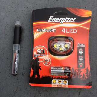 HEADLIGHT / Headlamp Energizer 4LED