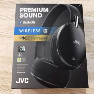 JVC noise-cancelling headphone HA-S90BN-B