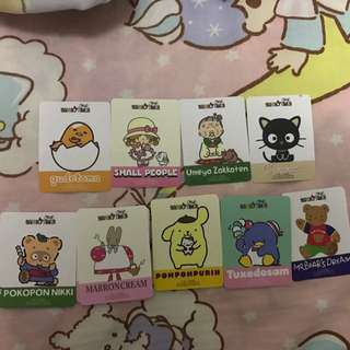 Our sanrio times 會場貼紙