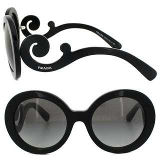 [信譽保證][全場最底價][荷里活明星潮款]Prada Minimal Baroque Sunglasses Grey Gradient 55mm 大陽眼鏡