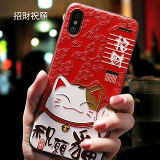 IPhone & Samsung機殼個性創意韓國硅膠全包防摔男女款