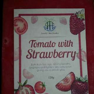 Tomato with Strawberry Soap 120g