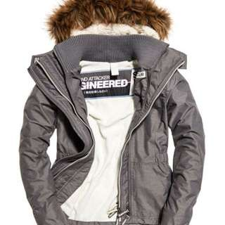 Superdry 極度乾燥 Sherpa SD-Wind Attacker 絨毛連帽風褸