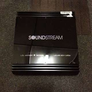 Amplifier 2ch Soundstream USA