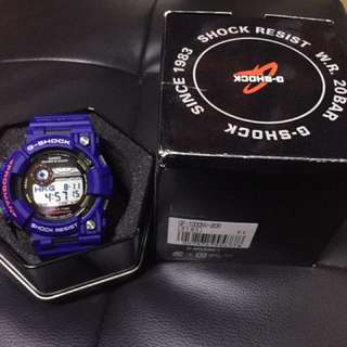 Casio Gshock frogman men in navy gf-w1000-2dr 藍蛙 蛙人