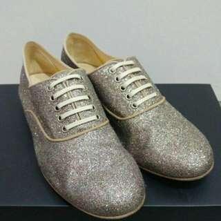 正品95新CL 女裝閃粉鞋 37.5碼