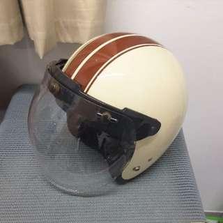 Motorcycle Scooter Helmet Bubble Visor