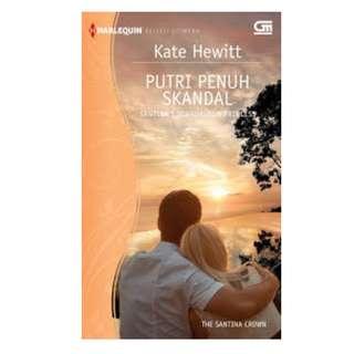 Ebook Putri Penuh Skandal (Santina's Scandalous Princess) - Kate Hewitt