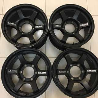 Lenso FT6 16 inch Rims Mags Tires