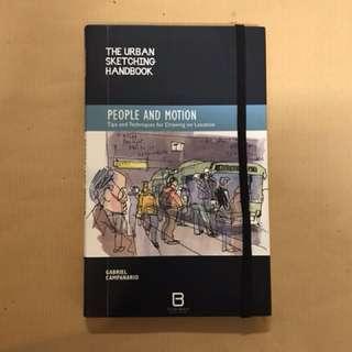 (THE URBAN SKETCHING HANDBOOK- PEOPLE & MOTION) Book on sketching