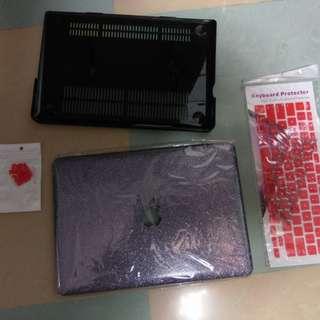 """全新Mac book pro 13"""" 保護蓋連keyboard 保護"""