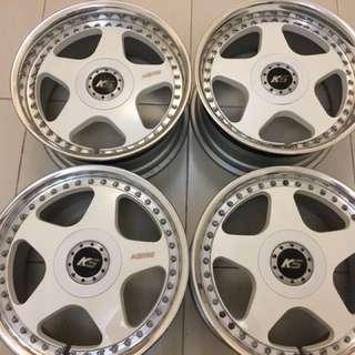 SSR Koenig 17 inch Mags Rims Tires
