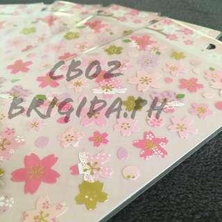 Cherry Blossom / Sakura Stickers CB02