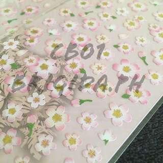 Cherry Blossom / Sakura Stickers CB01