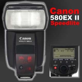 🚚 Canon 580 EXII 閃光燈,貿易商貨,少用99成新。