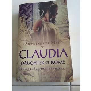 CLAUDIA: DAUGHTER OF ROME [ANTOINETTE MAY]