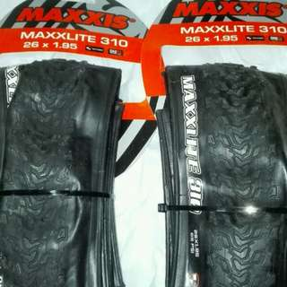 MAXXIS 26/27.5/29 MAXXLITE ULTRALIGHT TIRES 超輕外呔 , 送撬呔棒2枝