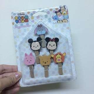 🚚 迪士尼Disney 木夾裝飾組