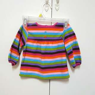 Carter's Rainbow longsleeves top