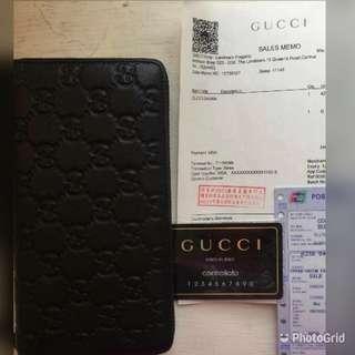 Gucci皮夾