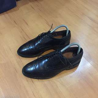Black Allen Edmonds Wingtips