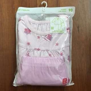 BN Uniqlo Baby (Toddler) Long Sleeve Pajamas Size 90