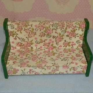Sylvanian Families Vintage Green Sofa