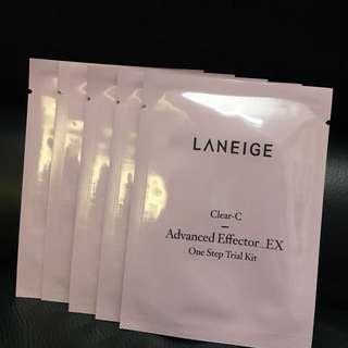 Laneige Clean C Advanced Effector_EX 5 packs