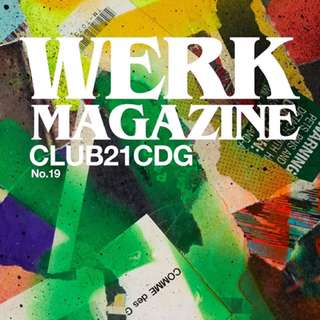 WERK Magazine 📚 No.19 CLUB21 CDG