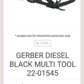 Gerber multifunction tool