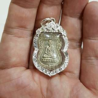 Luang Pu Thuad with Silver Hand crafted casing. All other detailed about the amulet will be updated accordingly.