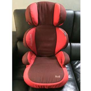 Red MaxiCosi Rodi SPS Car Seat Booster for 15-36KG