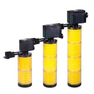Sobo WP Series Internal Filter with Led Light for Fish Tank