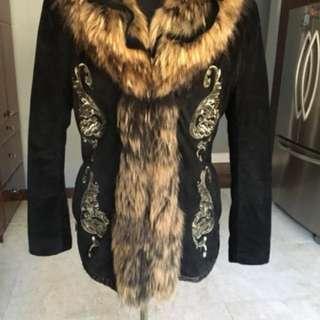 Beautiful fox parka for sale