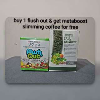 FLUSH OUT + METABOOST COMBO PROMO