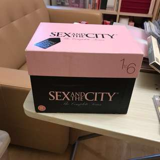 正版Sex and the City DVD Set  (UK version season 1-6 -no Chinese sub-title) + HK version movie 1&2