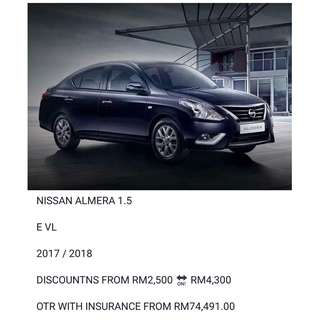 NISSAN ALMERA 1.5 2018