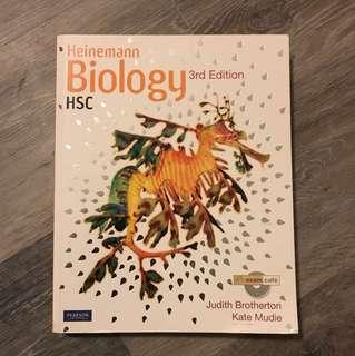 HSC Biology textbook
