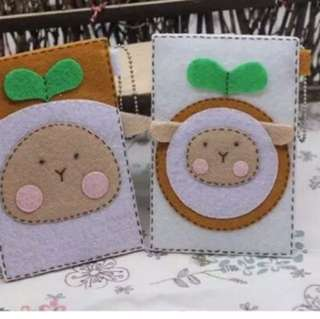 MRT card holder Free cut handmade cloth materials DIY cloth package couple models Poplar card sets