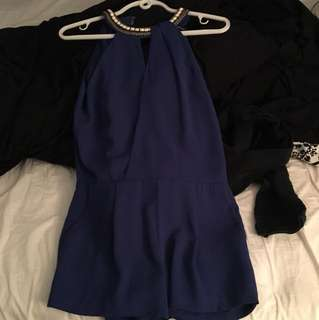 Marciano Blue playsuit