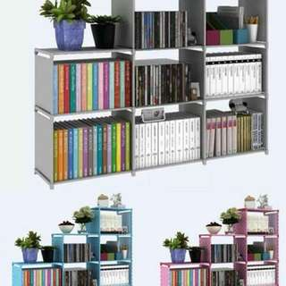 9 layer cubicle rack