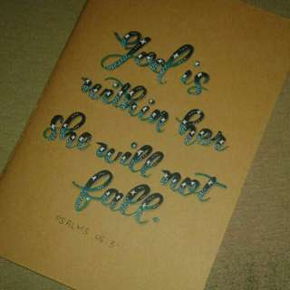 Calligraphy Customized Notebooks and Keychain