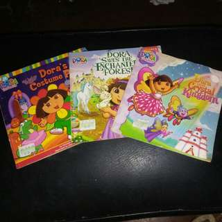 Dora the Explorer Bundle (3 pcs)