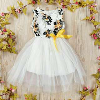 Kids Girl Flower Dress